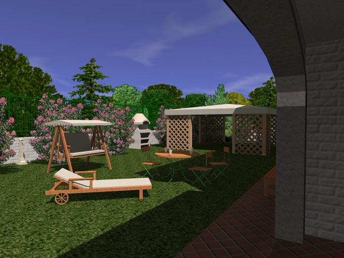 Il software per creare ed arredare casa e giardino in 3d - Software progettazione giardini 3d gratis ...