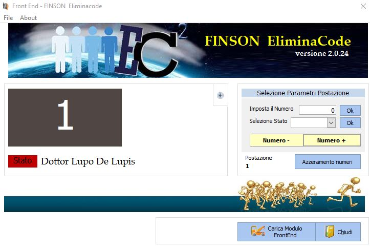 FINSON ELIMINACODE PER WINDOWS - schermata 1