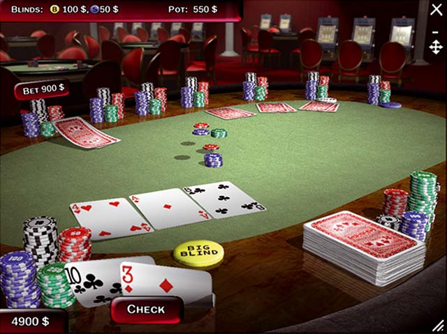 Gioco poker sfida il computer