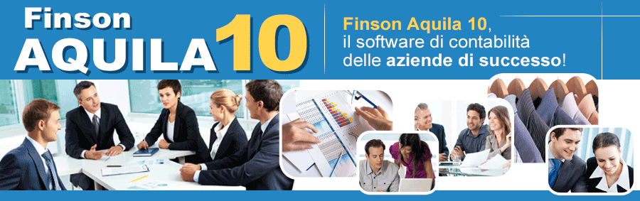 Aquila 10 - software finson gestionale di contabilit� per windows