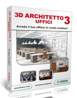 Finson 3d architetto 3 uffici per windows for Programma arredamento 3d