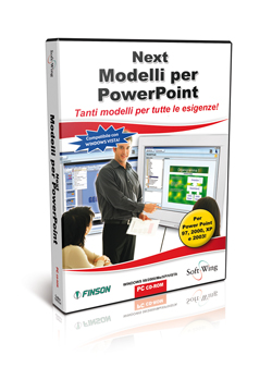 Raccolta di modelli pronti all'uso per Powerpoint