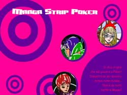 MANGA STRIP POKER PER WINDOWS - schermata 1