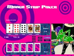 MANGA STRIP POKER PER WINDOWS - schermata 2