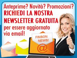 Per essere aggiornato via email su tutte le nostre anteprime, novità e promozioni iscriviti alla nostra newsletter gratuita!