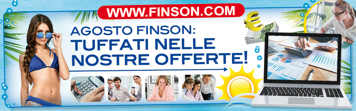 sconti software Finson agosto 2018